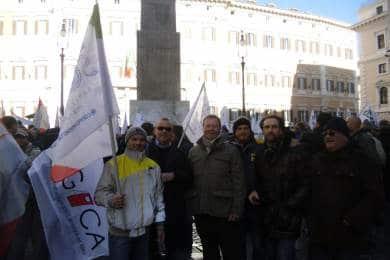 Manifestazione Unitaria P.zza Montecitorio 12 Dicembre 2012